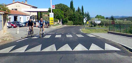Antrag: Maßnahmen zur Geschwindigkeitsreduzierung in der Ulmer Straße Beispiel